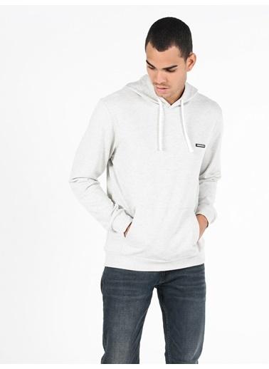 Colin's Regular Fit Erkek Beyaz Sweatshirt Beyaz